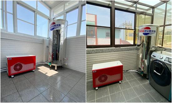 自然風熱泵全機MIT製造,不必擔心零組件供應缺貨。