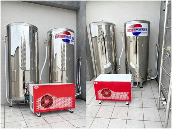 自然風熱泵師傅關注每道安裝細節,確認無誤後,才交付於客人。