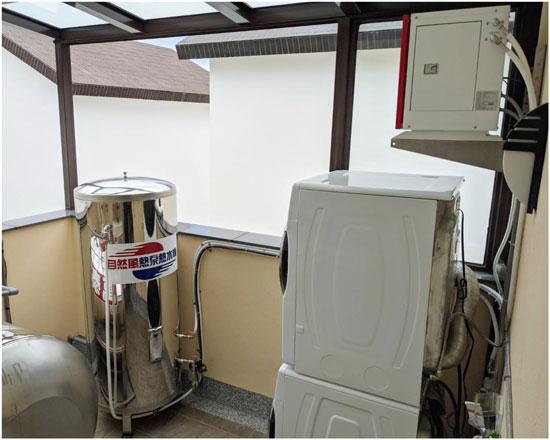 省電神器!自然風熱泵熱水器,耗電少、真節能。