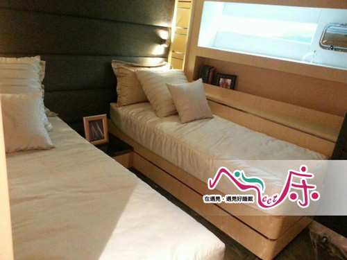 豪華遊艇:水手房床墊