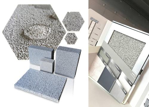 以爐石粉、水泥、PCB、助劑所打造的『隔熱防火磚』,不影響環境、人體健康。