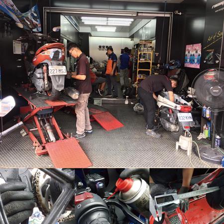 俊宏車業是台鈴機車的經銷商,許多台鈴車主都固定在此維修,由於振昌送貨效率高,俊宏的維修效率也很讓客人滿意。